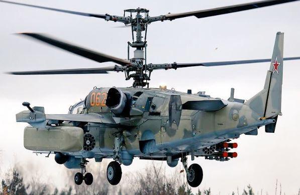 Kamov Ka-52 Alligator engine