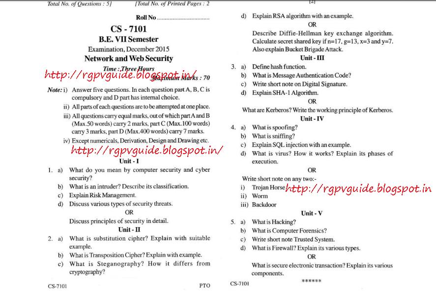 Rgpv Vibration Notes