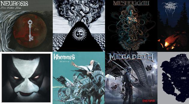 metal albums 2016