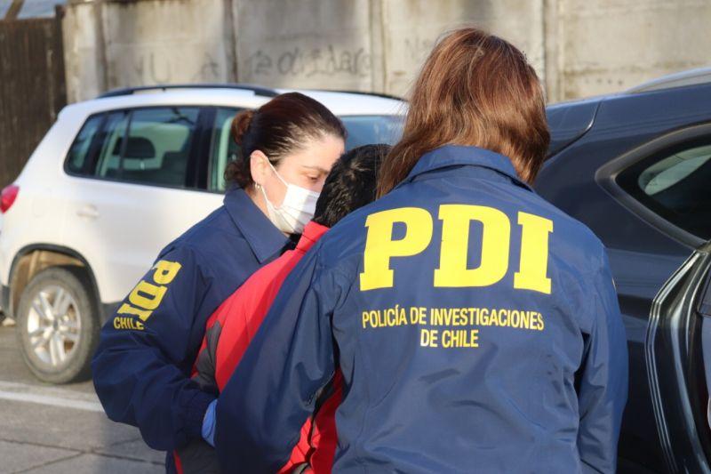 PDI detiene a hombre acusado de abusar sexualmente de niña en Los Muermos