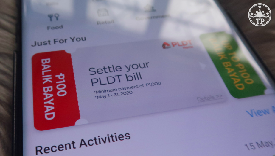 Pay PLDT Home Bill Paymaya