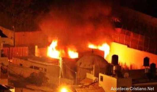 Incendian la Tumba de José en Cisjordania