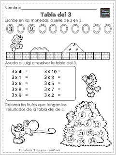 Cuadernillos para alumnos con rezago en multiplicación