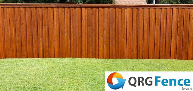 wood fence installation in Vienna VA