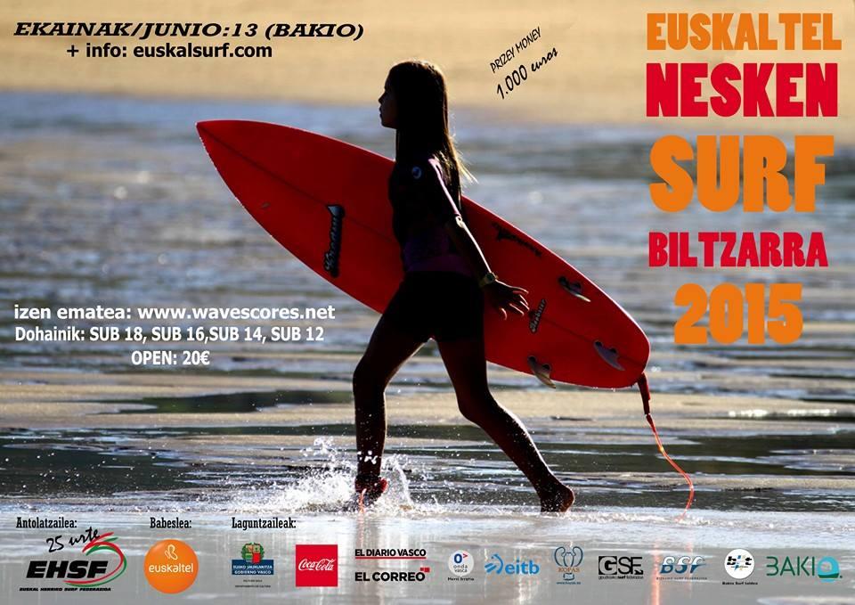 Euskaltel Nesken Surf Biltzarra 2015