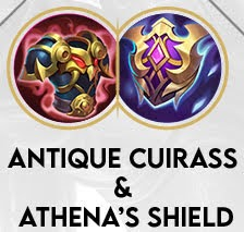 Antique Cuirass & Athena's Shield