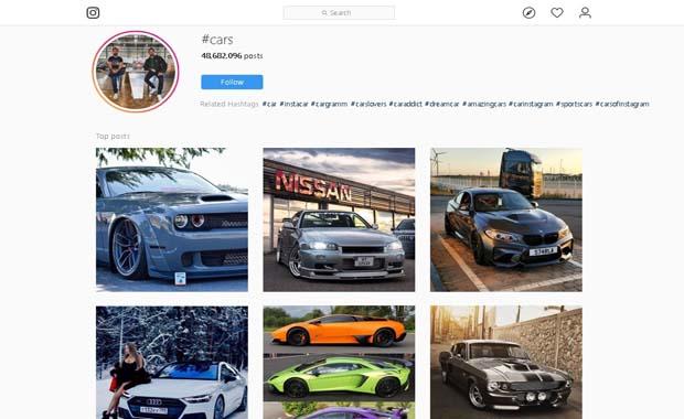 instagram mobil indonesia