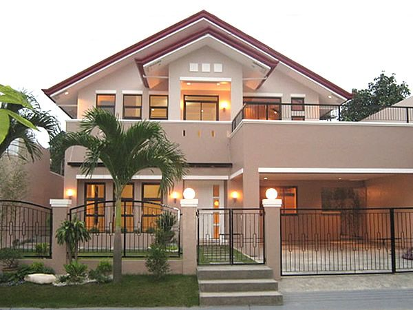 modern 2 storey bungalow painting and exteriors
