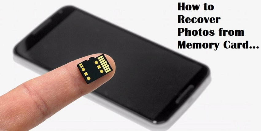 Recover Photos from Memory Card