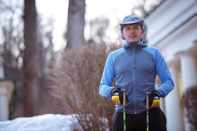 российский ультрамарафонец и североходец Дмитрий Ерохин.