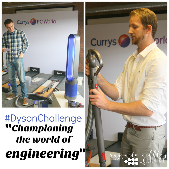 Passionate Dyson engineers discuss persistence, perseverance and quality work at the #DysonChallenge | Anyonita Nibbles