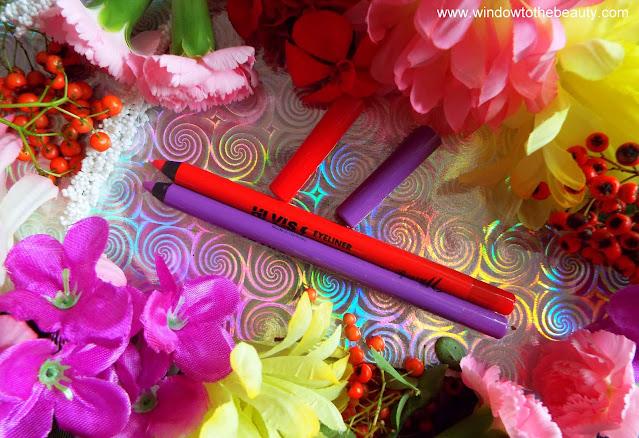 Barry M Hi Vis Neon Bold Waterproof Eyeliner recenzja