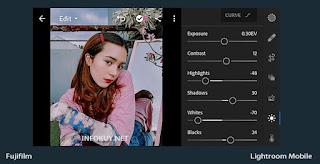 LIGHT - Tutorial Edit Foto Fujifilm Lightroom