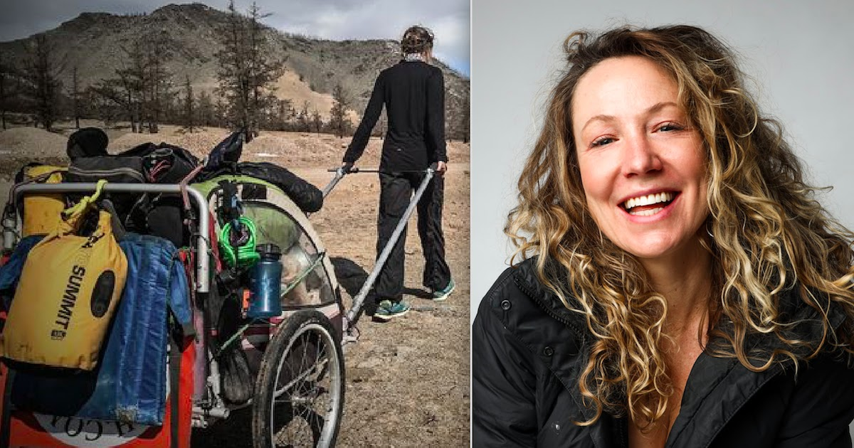 Angela Maxwell: The Woman Who Walked Around The World For 6 Years