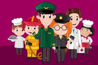 Atividade dia do trabalho para Educação Infantil
