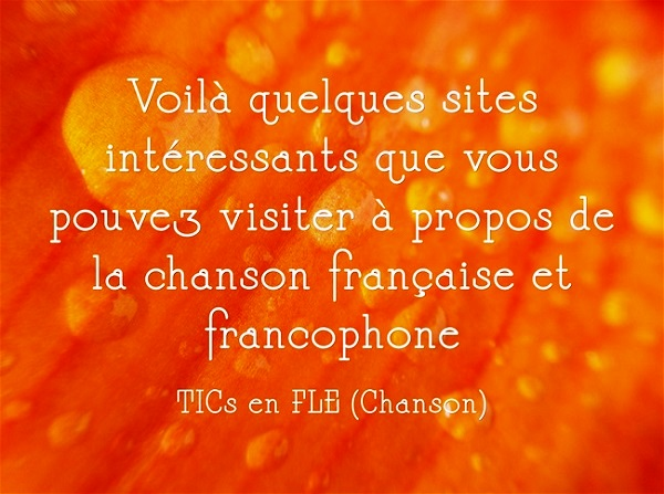 http://ticsenfle.blogspot.com.es/p/chanson.html