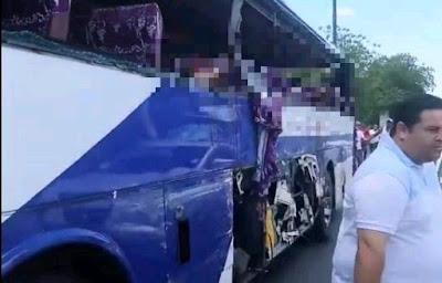 Tres muertos y varios heridos en accidente de tránsito Carretera Sánchez