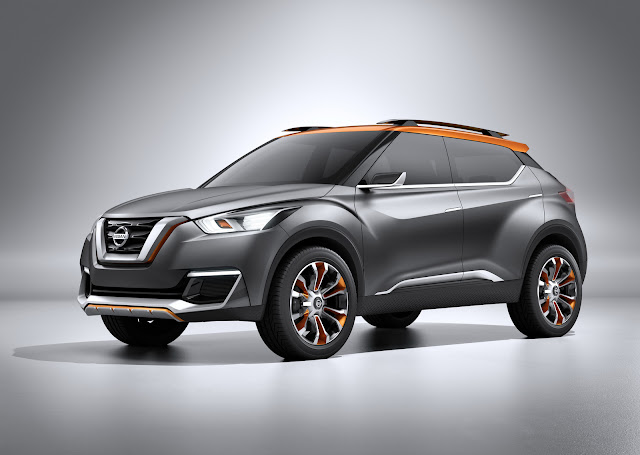 Nissan Kicks Compact Crossover Revealed