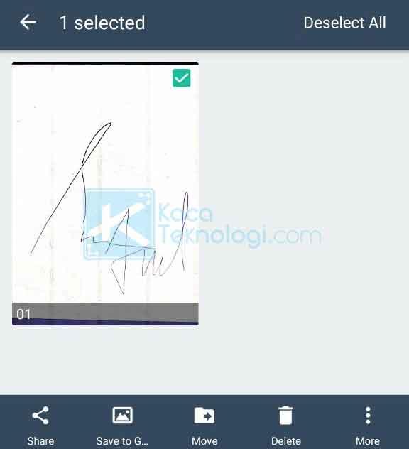 Cara Scan Tanda Tangan Dan Stempel Di Hp Android Printer Kaca Teknologi