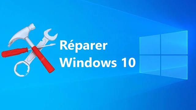Problèmes Windows 10 et comment les réparés?