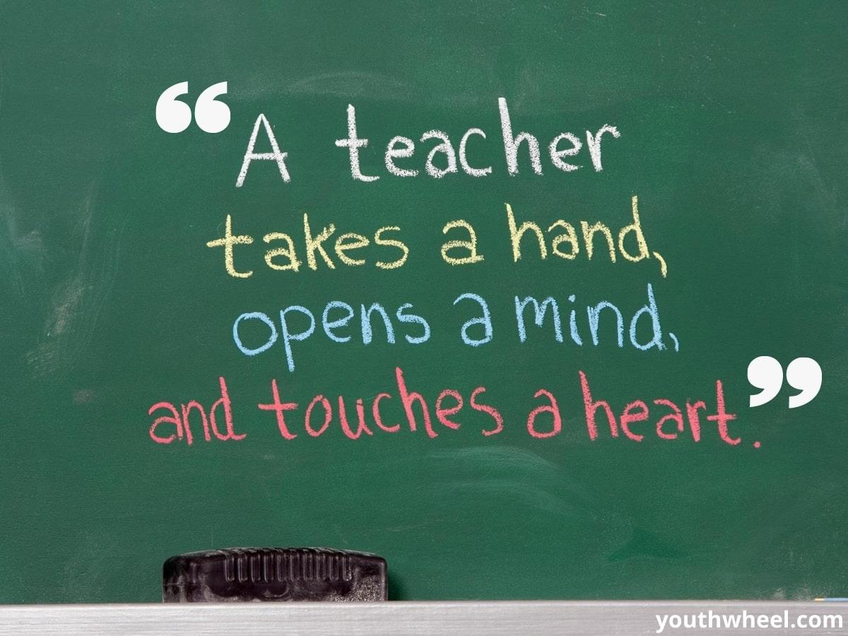 best teacher quotes, teacher appreciation quotes, teachers day quotes in English, teacher day thought