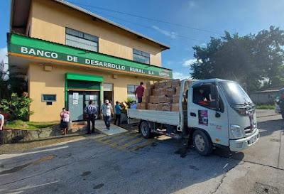 BANRURAL apoya a  familias afectadas  por Eta e Iota