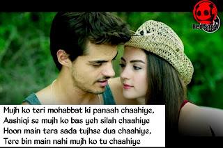 Tu chaahiye song Shayari