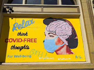 Relax think COVID-FREE thoughs for Well-being