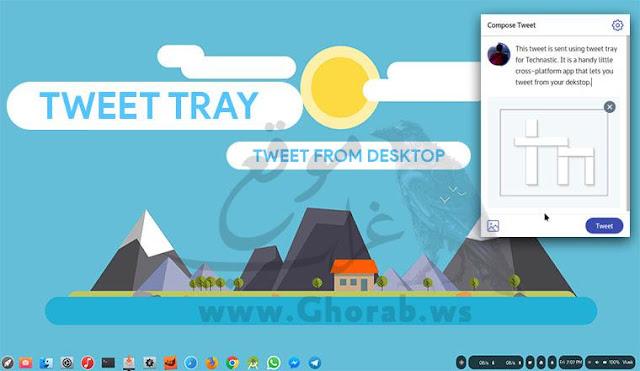 Tweet Tray
