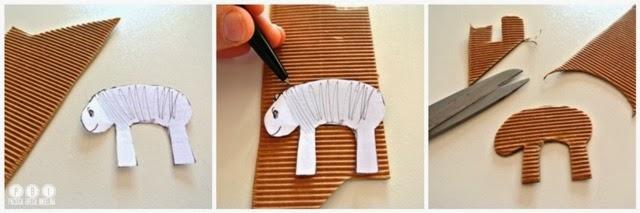 Diy sheep tutorial pecora di carta paciuga brega e