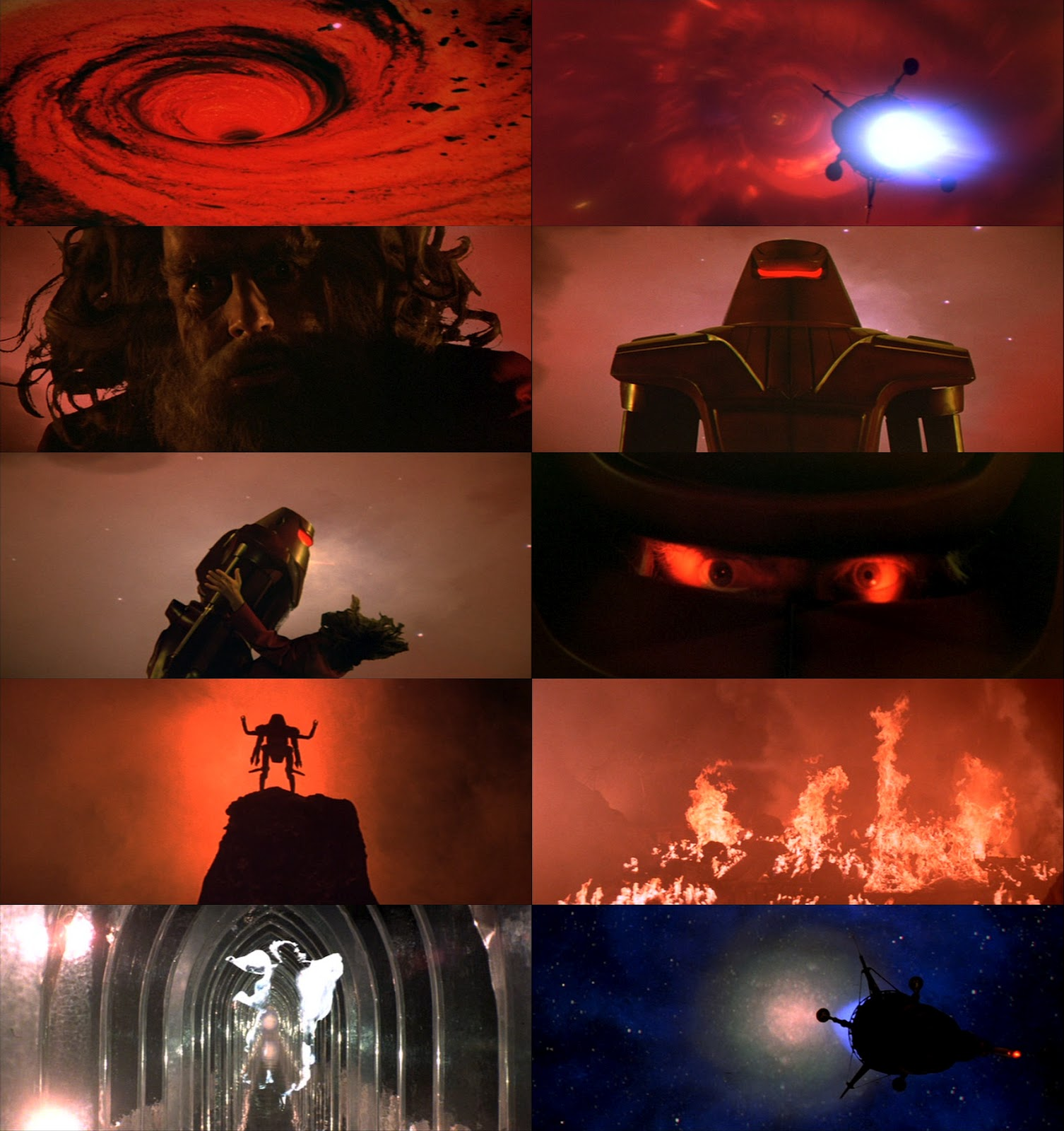 Maximilian The Black Hole 1979 - Pics about space
