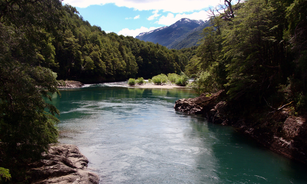 Onde fica o Rio Manso em Bariloche