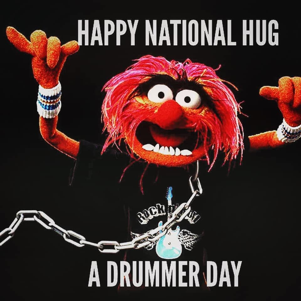 National Hug a Drummer Day Wishes for Instagram