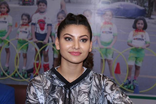 Urvashi Rautela At Roller Skating & Hula Hoop Event Stills