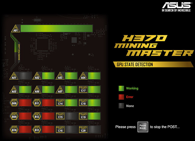 Motherboard ASUS Untuk Mining, ASUS H370 Mining Master