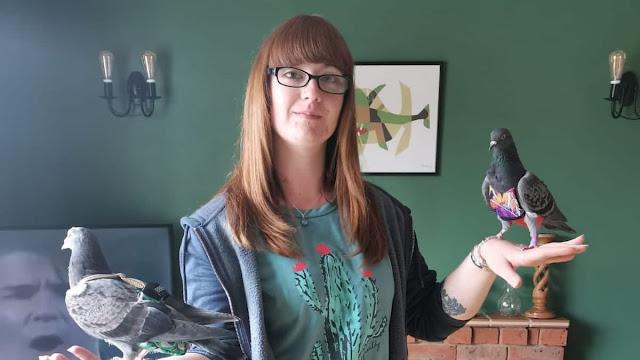 Девушка потратила 400 тысяч рублей на спасение уличных голубей