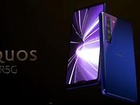 Android Sharp Aquos R5G rilis, Mampu Rekam Video 8K