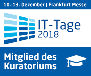 Speaking at IT Tage 2018