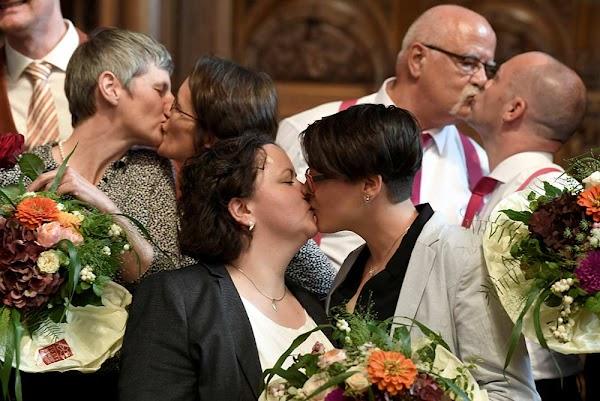 Alemania celebra primeras bodas gay