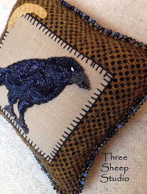 Three Sheep Studio Crows Ravens Blackbirds