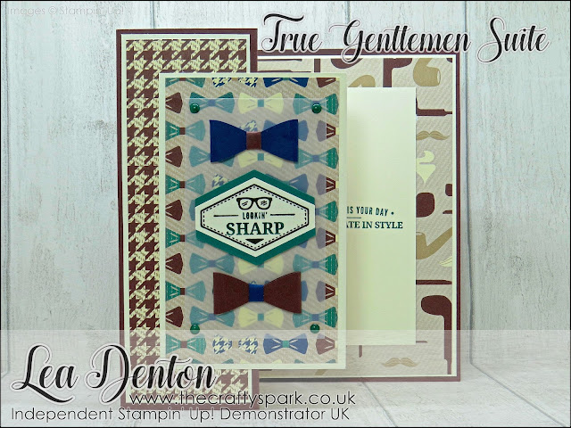Stampin' Up! Cards for the Men Week - Day 7, Card 12 Fancy Fold Card