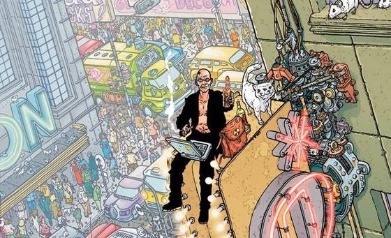 Transmetropolitan Vol. 1 #warrenellis #transmetropolitan #comiccovers #vertigo #dccomics