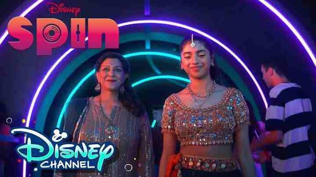 Spin Movie Disney Plus Hotstar, Disney Channel