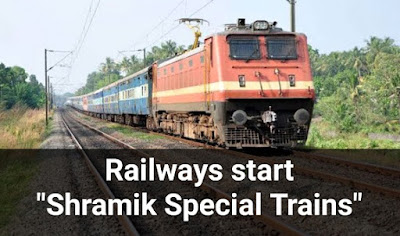 Railways start Shramik Special Trains to move migrant workers, pilgrims, tourists, students at different places due to lock down: Key Highlights