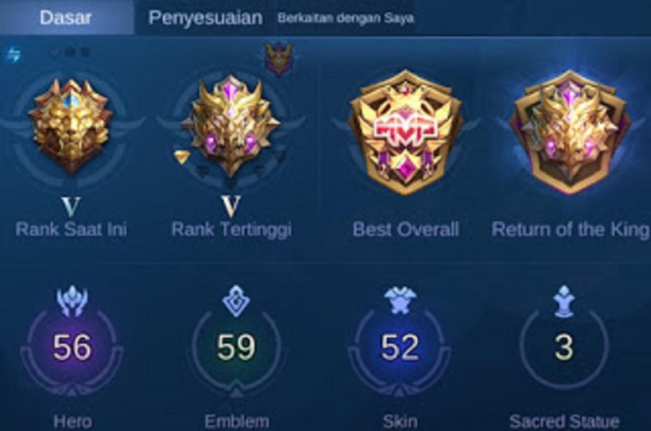 cara solo rank naik mobile legends