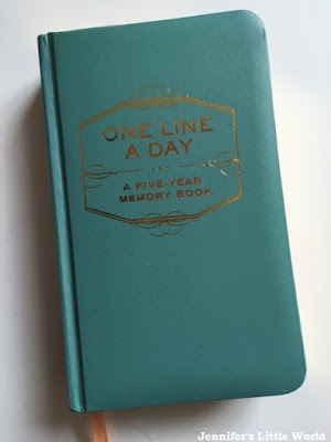 One line a day diary journal