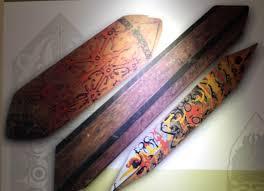 Senjata-Tradisional-Tameng-dari-bengkulu
