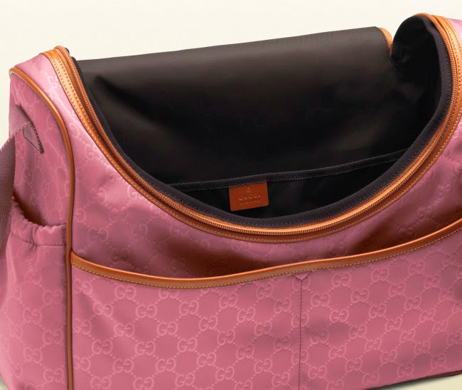 Gucci Diaper Bag To Travel In Style With Your Toddler This