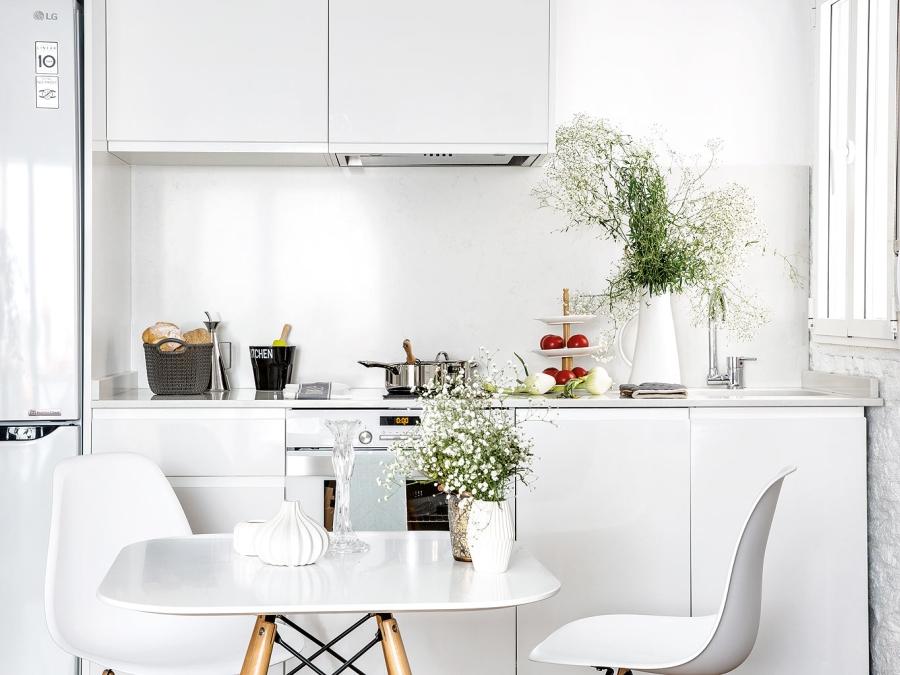 wystrój wnętrz, wnętrza, urządzanie mieszkania, dom, home decor, dekoracje, aranżacje, small apartments, małe mieszkanie, mała przestrzeń, styl skandynawski, scandinavian style, jasne wnętrza, kuchnia, kitchen