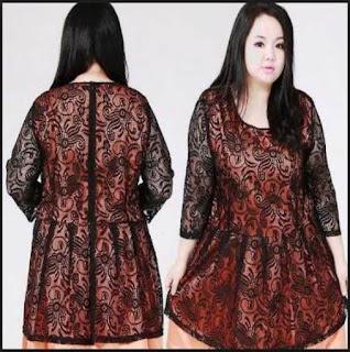 Baju Batik Kerja Wanita Model Blazer
